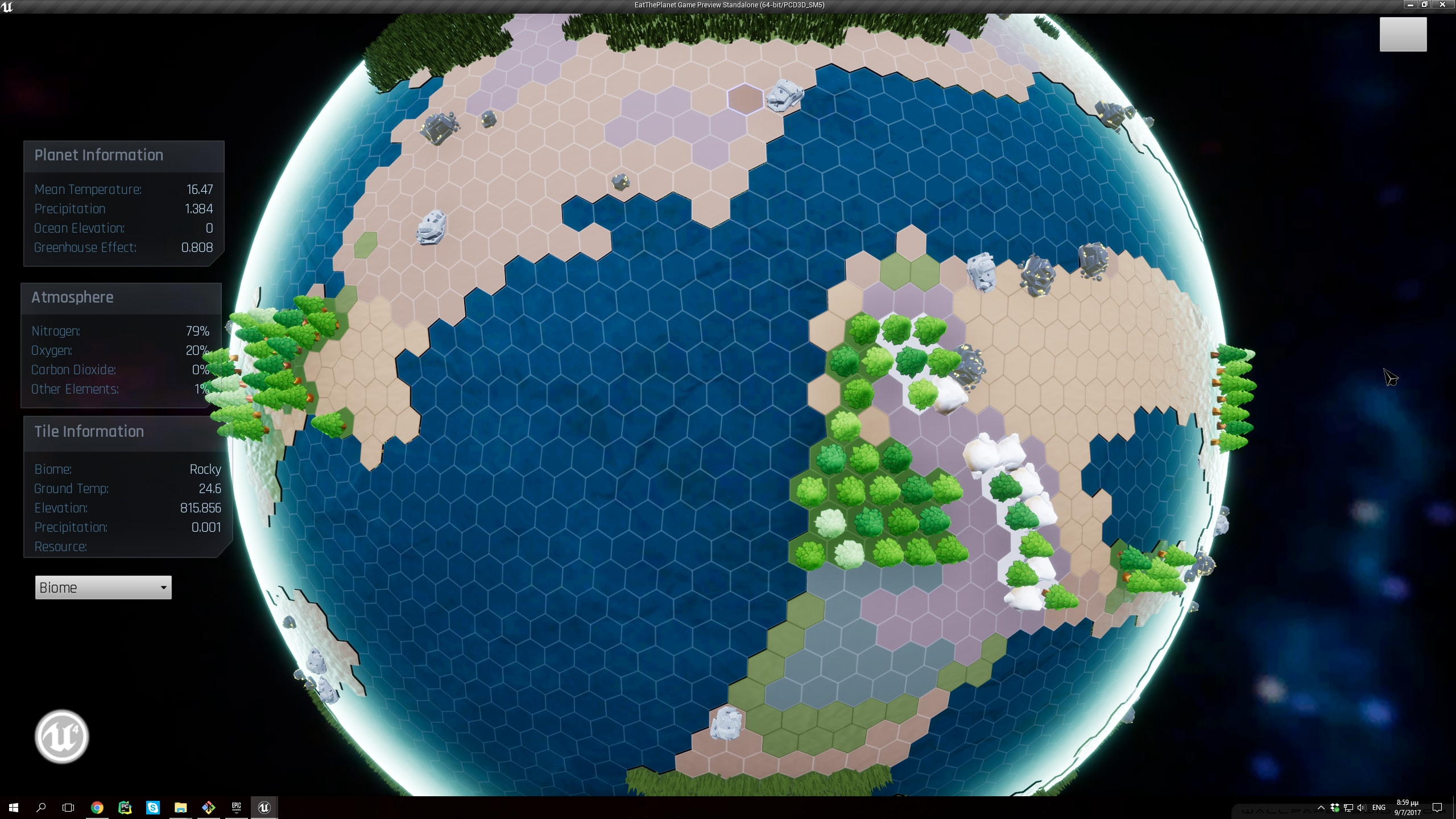 Tile and Game Resources & Meshes - Eat The Planet